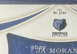 19-20 Immaculate Basketball Brand Logo Patch Nike Swoosh 1/5 Ja Morant