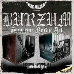 1Burzum Supreme Nordic Art Complete Discography (2019) Brand New CD Sealed
