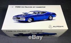 AUTOart 118 Ford XA Falcon GT Hardtop Blown Coupe Candy Apple Blue BRAND NEW