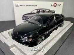 AUTOart 118 Holden HSV Y Series GTS Phantom Black with COA BRAND NEW RARE