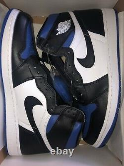 Air Jordan 1 High Retro Royal Toe Size 13 Mens 555088-041 BRAND NEW