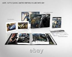 Alita Battle Angel Collector Edition Limited Ed (4K Ultra HD/3D/Blu-Ray/Digital)
