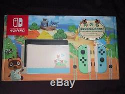 Animal Crossing New Horizons Limited Edition Nintendo Switch Console Brand New