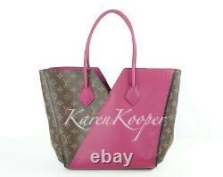 Authentic Brand New Louis Vuitton Kimono MM Monogram Grape Handbag Tote Bag