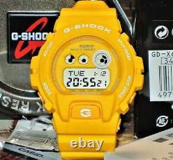 BRAND NEW CASIO G-SHOCK GD-X6900HT-9 x LARGE HEATHERED YELLOW MENS LIMITED