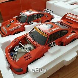 BRAND NEW Exoto 118 Jagermeister Porsche 934/935 Die Cast Limited Edition
