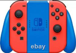 BRAND NEW FACTORY SEALEDNintendo Switch Console Mario Red Blue Limited Edition