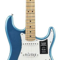 BRAND NEW Fender Player Stratocaster Electric Guitar Lake Placid Blue