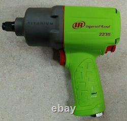 BRAND NEW Ingersoll Rand 2235TiMAX-G Limited Edition Green 1/2 Impact Wrench