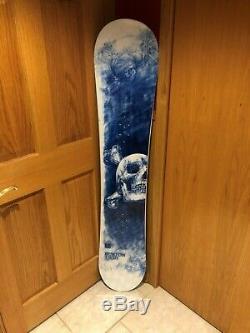 BRAND NEW Limited Edition Burton Twin 154 snowboard designed by Andrei Molodkin