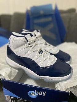 BRAND NEW Nike Air Jordan Retro 11 Win Like'82 Size 9.5 Or 9