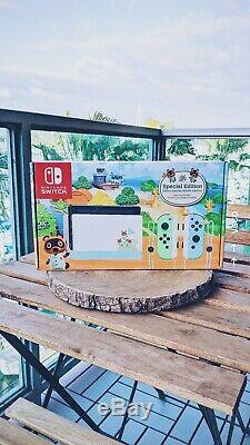 BRAND NEW Nintendo Switch Console Animal Crossing New Horizon Limited Edition