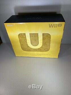 BRAND NEW Nintendo Wii U Legend Zelda Limited Edition System Console Bundle USA