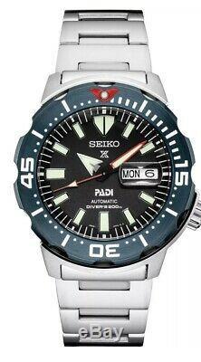 BRAND NEW Seiko Prospex Padi Monster Divers 200M Men's Watch SRPE27