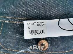 BRAND NEW Taylor Stitch The Long Haul Jacket in Organic'68 Selvage (42) $188