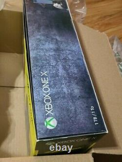 BRAND NEW open box Xbox One X 1TB Cyberpunk 2077 Limited Edition Console Bundle