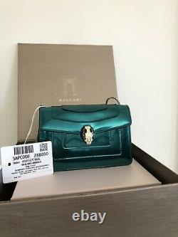 BRAND NEW with tags Bulgari Serpenti Forever Mini Crossbody Bag Limited Edition