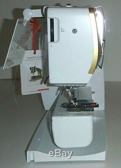 Bernina 530 Sewing Machine GOLD Limited Edition BRAND NEW IN BOX -warranty