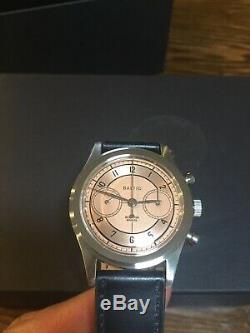 Brand New Baltic x Worn & Wound Bi-Compax Chronograph Watch Limited Edition 100
