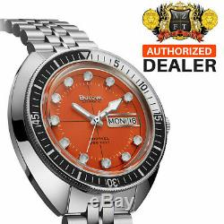Brand New Bulova Limited Edition Oceanographer Devil Diver Snorkel Auto 98c131