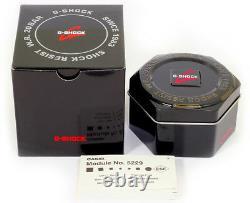 Brand New Casio G-shock Ga110 Men's Black Ana-digi Watch Golden Reloj Hombres