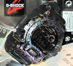 Brand New Casio G-shock Gd-x6900pm-1 Polarized Marble Mens Limited Genuine