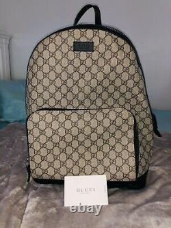 Brand New Gucci Supreme Canvas Eden Small Unisex Backpack