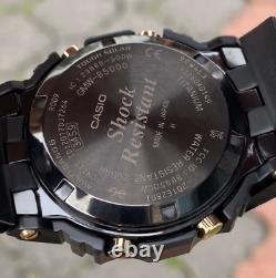 Brand New Hot Item G-shock Gmw-b5000tb-1 Titanium DLC Gold One Solar Bluetooth