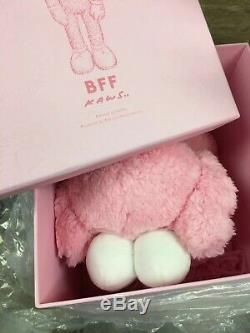 Brand New! KAWS BFF Pink Plush Limited Edition 2019 100% Authentic In Hand