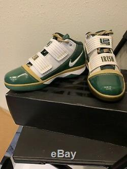 Brand New Lebron Nike Zoom Soldier 3 SVSM Home Size 9 Limited Edition