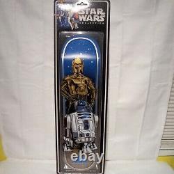 Brand New Limited Edition Santa Cruz Star Wars Droids Skateboard Deck