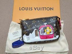 Brand New Louis Vuitton Christmas 2019 Mini Pochette Accessoires Vivienne Ski