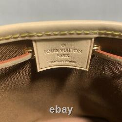 Brand New Louis Vuitton Nano Noe Monogram Made in France with Receipt