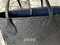 Brand New Louis Vuitton Neverfull Empreinte With Original Receipt