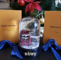 Brand New Louis Vuitton Snow Globe VIP Limited Edition LV Dome Wardrobe Trunk