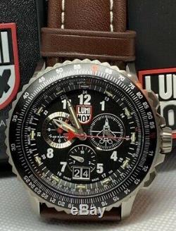 Brand New Luminox F-22 Raptor Lockheed Martin Chronograph Men's Watch