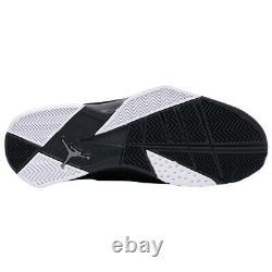 Brand New Men's Nike Air Jordan True Flight Basketball Sneakers Black & Gray