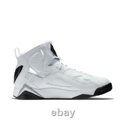 Brand New Men's Nike Air Jordan True Flight Basketball Sneakers White & Black