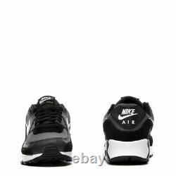 Brand New Men's Nike Air Max 90 Athletic Leather Lifestyle Sneakers Black Gray