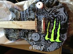 Brand New Monster Energy Les Paul Limited Edition Guitar