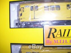 Brand New Mth # 30-20627-3 Nyc Mta R-12 Two Car Subway Non Powered Work Trains