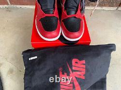 Brand New Nike Air Jordan 1 Retro High 85 Varsity Red Mens Size 11.5