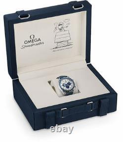 Brand New Omega Speedmaster Silver Snoopy Award Men's Watch 310.32.42.50.02.001
