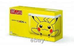 Brand New, Pokemon Nintendo 3DS XL Pikachu Yellow Limited Edition Factory Sealed