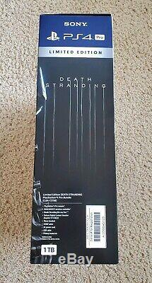 Brand New Sealed bundle Death Stranding Limited Edition PS4 PRO PlayStation 4