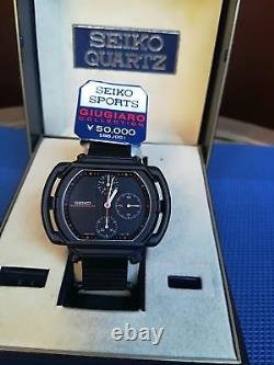 Brand New Seiko Giugiaro Speedmaster 7a28-5000 Aliens Ripley Limited Edition