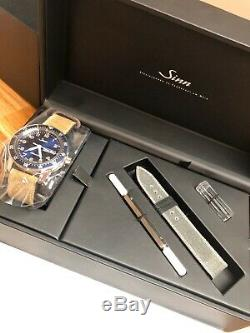 Brand New Sinn 104 ST SA A B E Blue Dial Limited Edition Never Worn