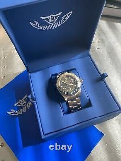 Brand New Squale 1545 30 Atmos TROPIC GMT CERAMICA Watch Under Warranty