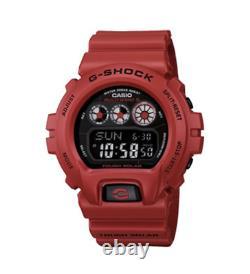 Casio G-Shock Burning Red GW-6900RD-4 Solar Power Limited Edition Brand New