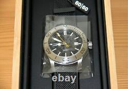 Christopher Ward C60 Trident 316L Limited Edition Watch / Black / Brand New